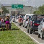 El nuevo puente de Vaqueros no resuelve la congestión vehicular de La Caldera