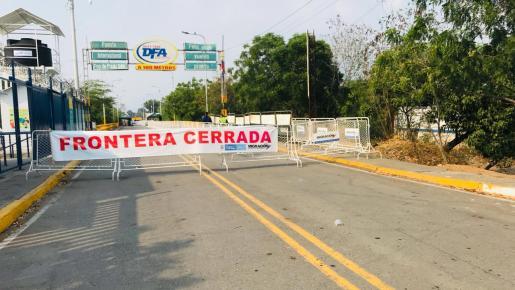 cierre frontera